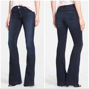 Kut from the Kloth Chrissy Flare Dark Stretch Jean